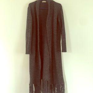Vintage duster cardigan